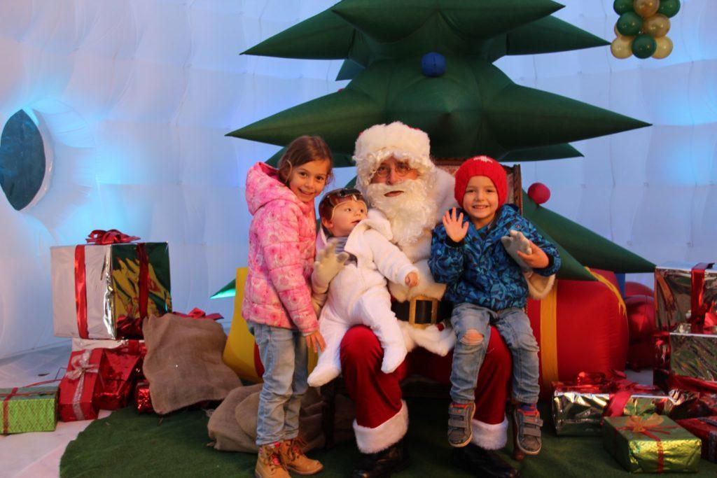 Le Père Noël au Marché de Jérusalem 2018